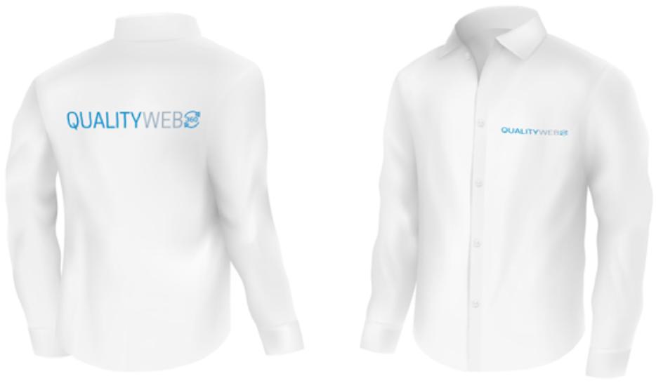 camisa blanca - Manual de Uso de Marca